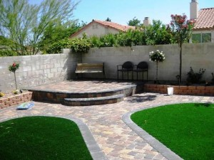 landscaping synthetic lawn