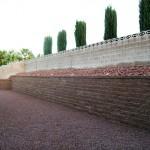 landscape wetaining walls