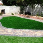 landscaping synthetic grass