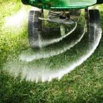 las vegas fertilizing the lawn